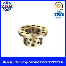 Douille en bronze adaptée aux besoins du client, douille de cuivre de glissière, douille de bimétal