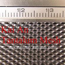 Treillis métallique en tantale expansé