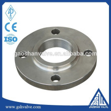 ISO standard stainless steel threaded flange