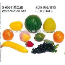 Gemüse und Früchte Spielzeug Pädagogisches Spielzeug
