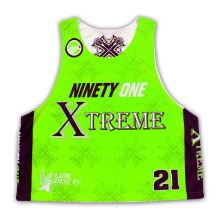 Neuer kundengebundener sublimierter Lacrosse Jersey 2015