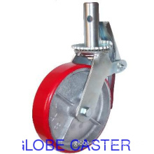 Scaffolding Casters,PU on cast iron Material,6inch, 8inch Available