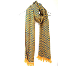 Кашемир цвета корзины тканые платок