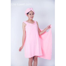 Lady Microfiber Shower Bath Towels Wrap Skirt