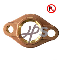 NSF-61 lead free brass or bronze water meter flange