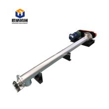 auger flexible screw conveyor feeder with sand