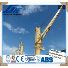 Electric Remote Control Marine Hydraulic Deck Crane