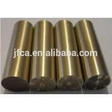 Tige / barre de cuivre à béryllium en forme ronde C17000 C17200 C17300 C17500 C17510