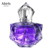 Glasflasche-Parfüm der Designer-Form-100ml für Frau