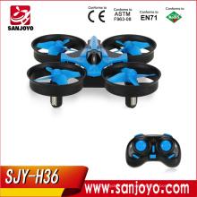 Mini Quadrotor Quadcopter 6-axis Rc Helicóptero Quadrocopter Drones Drones Drones JJRC H36 Melhor Brinquedo Presentes