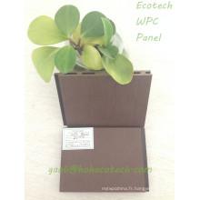 Panneau en bois composé facile de panneau de composé en bois de WPC de boîte pour la piscine de fleur