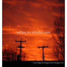 Guyed Mast Elektrische Macht Stahl Pole
