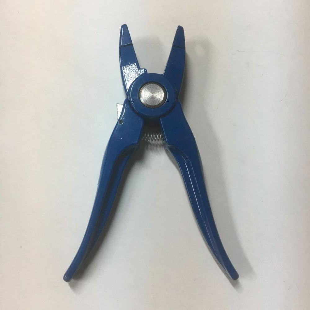Blue Sheep Ear Tag Plier