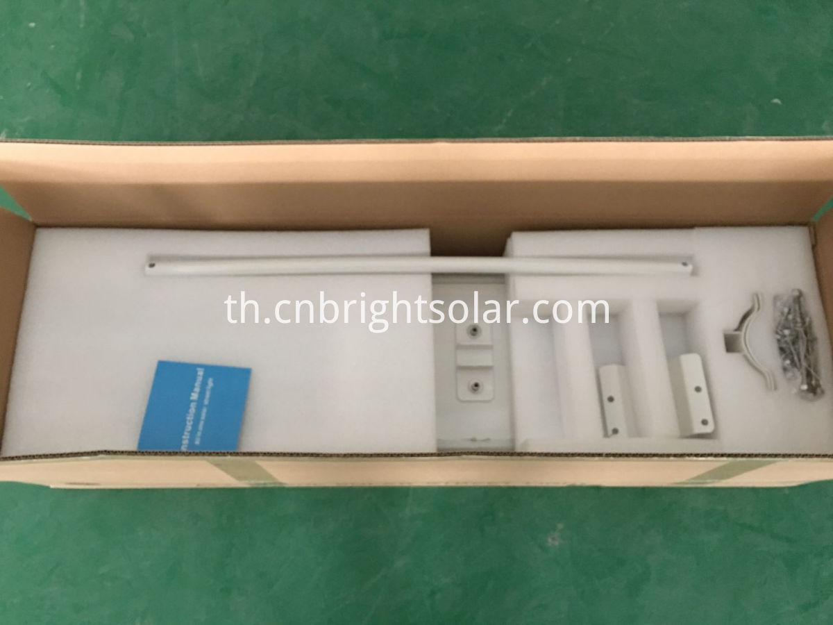 40W integrated solar street light