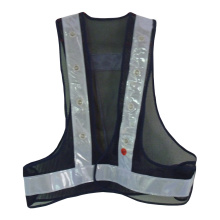 Reliable for Custom Reflective Safety Vest Led Reflective Safety Vests Jacket for Walkers supply to Cote D'Ivoire Wholesale