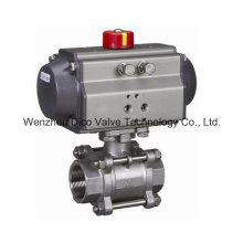 "Pneumatic Thread End Dn50/2"" 3 Pieces Ball Valve"