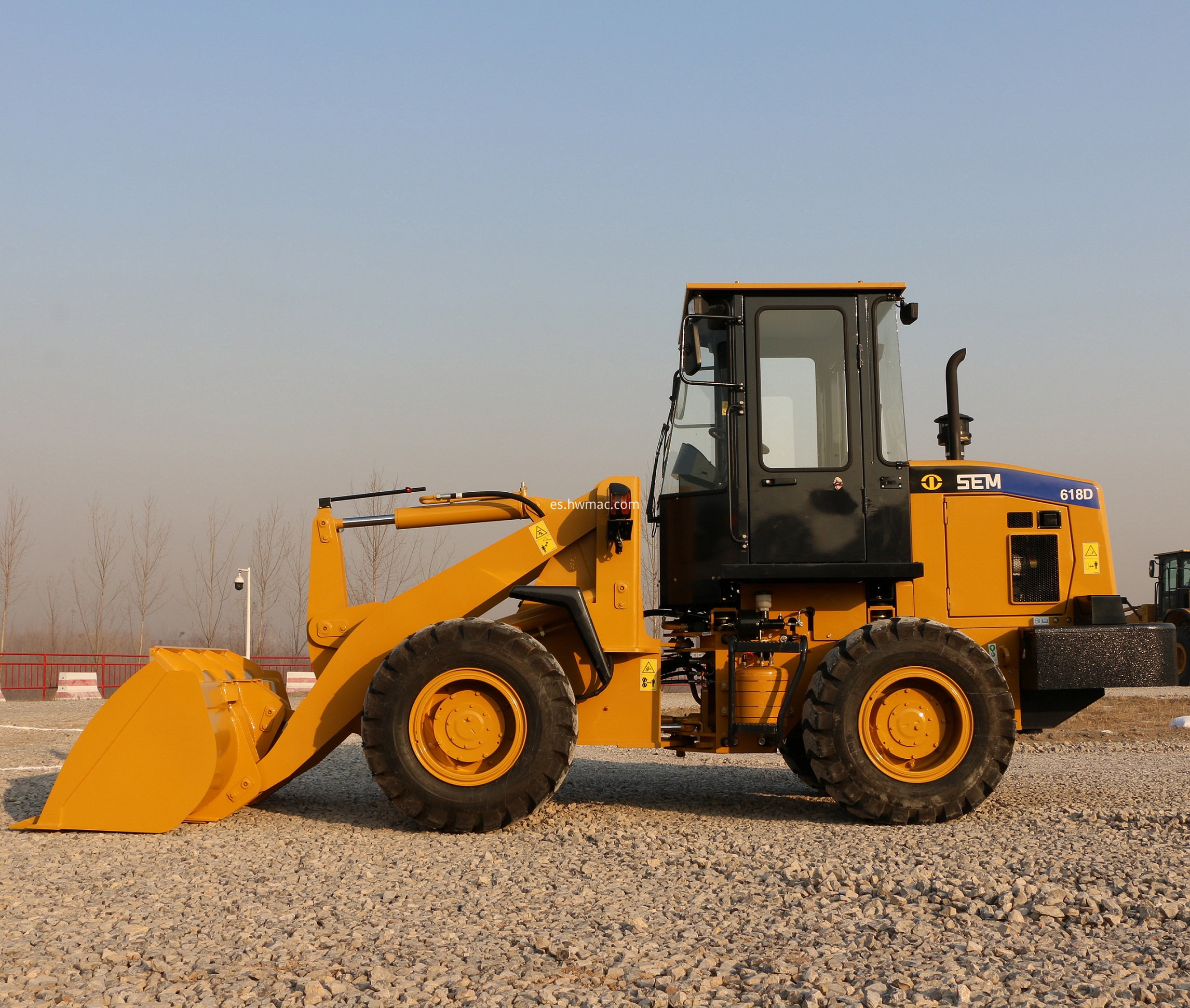 sem618d wheel loader