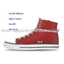 los últimos zapatos rojos de la ropa para las mujeres
