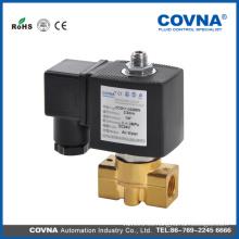Válvula solenoide de agua de gas eléctrico de 1/4 pulgadas de pulgada Normalmente cerrada