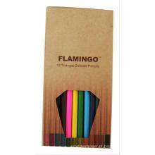 Conjunto de lapis de quatro cores para crianças