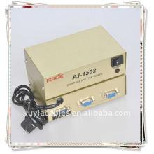 1 PC PORT VGA SVGA XGA auf 2 Monitore Video Splitter Box