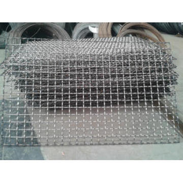 Stainless Steel Single Intermediate Crimped Wire Mesh