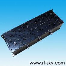 Conector SMA-F de 50 W de potencia 457-459MHz Tipo duplexor de cavidad UHF de rf vhf