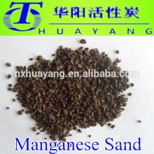 Birm / sable de manganèse pour enlever le fer, le soufre ou le manganèse de l'eau potable