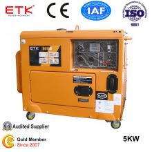 5kw Diesel Generator with Oil Pressure Alam