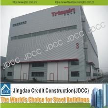 Taller de estructura de acero ligero de galvanización de alta calidad