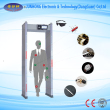 24 zone Portable Walk à travers le fabricant de détecteur de métaux, location de détecteur de métaux