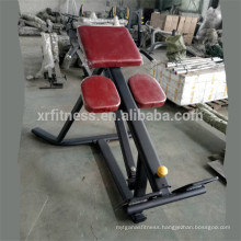 Commerical gym equipment back extension bench