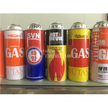 Tinplate Aerosol Can for Lighter Butane Gas