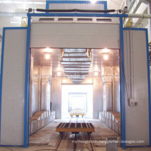 Popular Spray Painting Booth for Diesel Engine