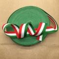 Зеленая бархатная тканая лента Olivia