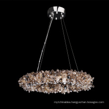 Modern European Luxury Large Round Crystal Chandelier lighting for decorative