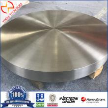 Titanium schijfplaat ASME SB381 F2