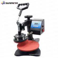 Sunmeta mini plate heat press printing machine transfer machine, sublimation machine