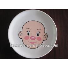 KC-00295 / assortiment de vaisselle en céramique / design visage enfant