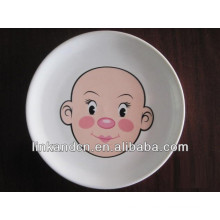 KC-00295/ceramic tableware dinner set/kid face design