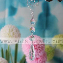 Best Price for for Chandelier Prism Trimming Vintage Crystal Plastic Teardrop Chandelier Lamp Parts supply to Qatar Importers