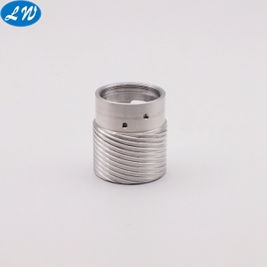 CNC Turning Parts Precision Knurled Part