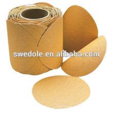 Rouleaux de disque de papier de ponçage d'oxyde d'alminum de 125mm