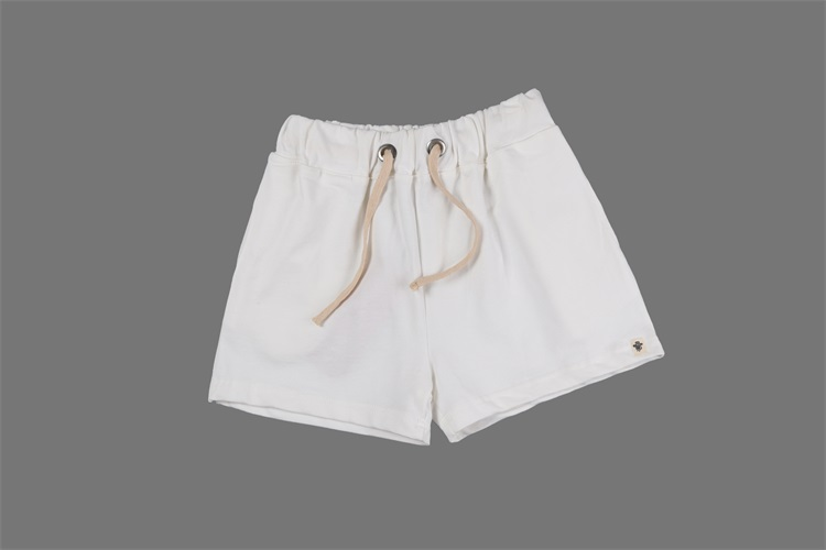 White Shorts Womens