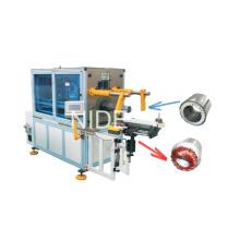 Bobina de estator automática y máquina de inserción de cuña