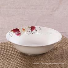 Tazón de fideos familiar porcelana