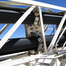 Tubular Pipe Belt Conveyor From Shanghai Ske Top Manufacturer