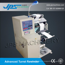 Turret Rewider Self-Adhesive Blank Label and Barcode Label Slitter Machine