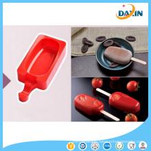 Classic Ellipse Shape Food Grade Silicone Ice Cream Mould