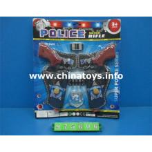 Cheap Promoção Plástico Brinquedos Polícia Set (975606)